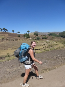 Trekking through Guatemala