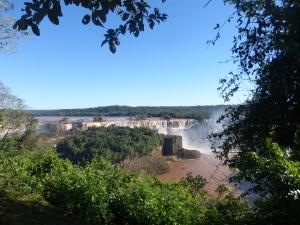 Panoramaview von der brasilianischen Seite