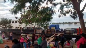 Wie man 4 Tage auf einem paraguayischen Containerschiff übersteht