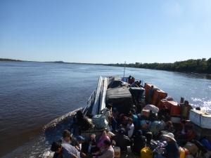 Das Boot am ersten Tag