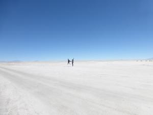 Salz wohin man schaut