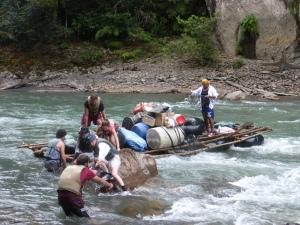 Der Floß-Unfall