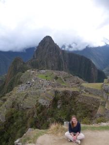 Machu Pichu von oben