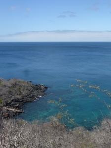 Ausblick von der Isla San Cristóbal