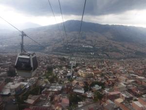 Seilbahn über Medellin