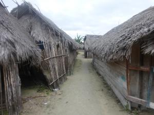 Im Kunas-Dorf