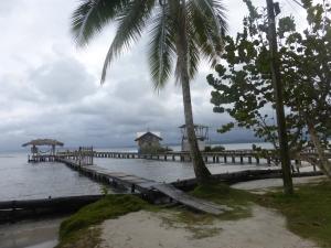 Wolken in der Karibik in Bocas del Toro