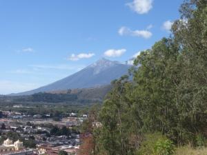 Vulkan Fuego in Antigua