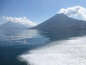 Wunderschönder Lago de Atitlán