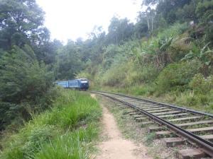 ... the train comes.