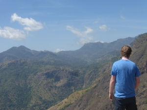 View over Ella - Sri Lanka´s biggest tearegion