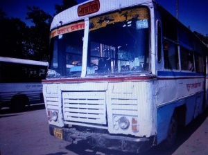 Local busses in India